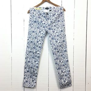 🆕Listing! J. Crew Toothpick floral skinny jeans